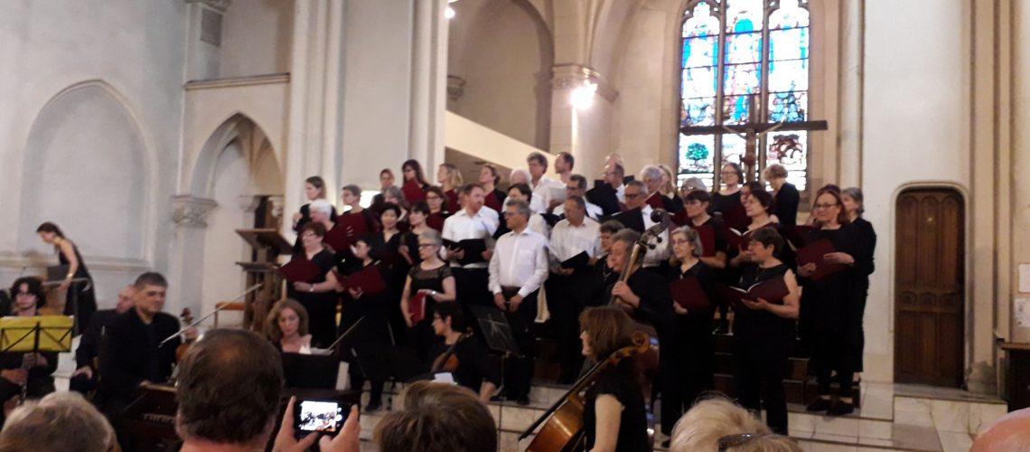 Concert Vivaldi Pergolèse - juin 2019